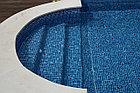 Пленка для бассейна Haogenplast NG BLUE 3D, фото 5