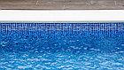Пленка для бассейна Haogenplast NG BLUE 3D, фото 4