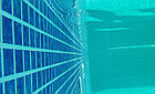 ПВХ пленка для бассейна Haogenplast MATRIX BLUE 3D, фото 2