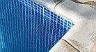 ПВХ пленка для бассейна Haogenplast MATRIX BLUE 3D, фото 4