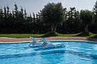 ПВХ лайнер для  бассейна ПВХ Haogenplast BLUE 8283 LAQU, фото 3