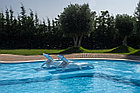 ПВХ лайнер для  бассейна ПВХ Haogenplast BLUE 8283 (без акрила), фото 3