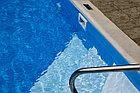 ПВХ лайнер для  бассейна ПВХ Haogenplast BLUE 8283 (без акрила), фото 4