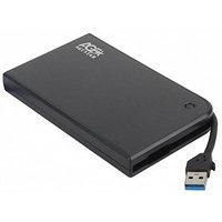 Внешний корпус для HDD/SSD AgeStar 3UB2A14 SATA II пластик/алюминий черный 2.5'