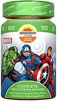 IHerb Sundown Naturals Kids Витамины № 60 «Marvel Avengers»