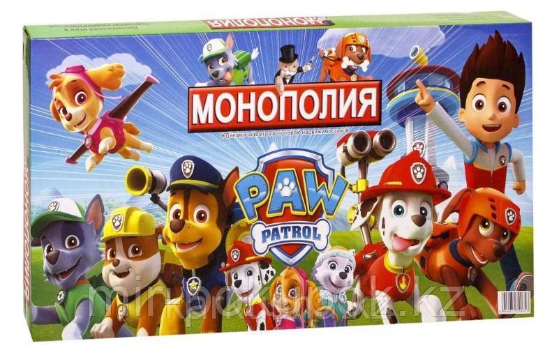 Монополия Щенячий патруль