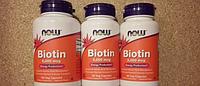 Биотин 5000 мкг №60 вегетарианских капсул Now Foods