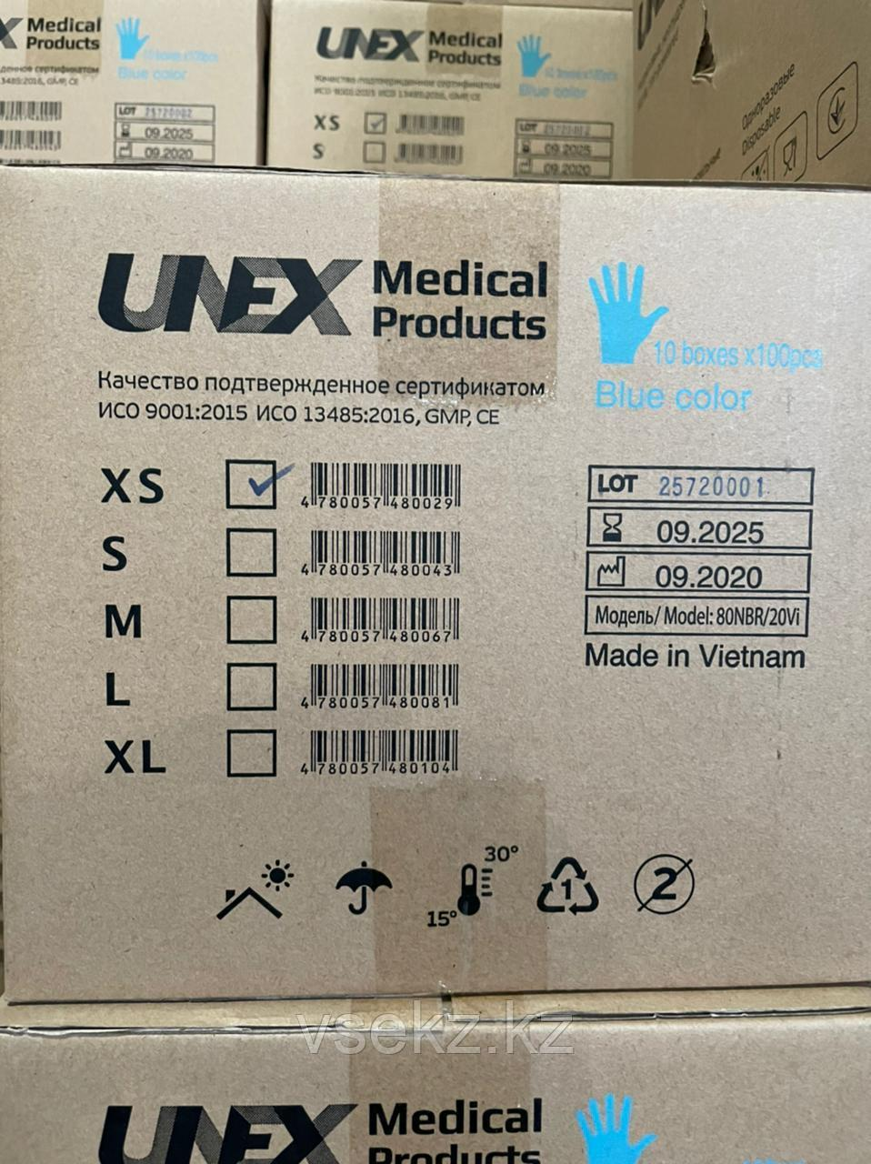 Перчатки Нитрилловые Виниловые Латексные медицинские M L S размеры Перчатки всех цветов - фото 5