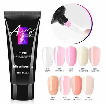Acryl Gel Misscheering /Nude Pink/ 15 гр.