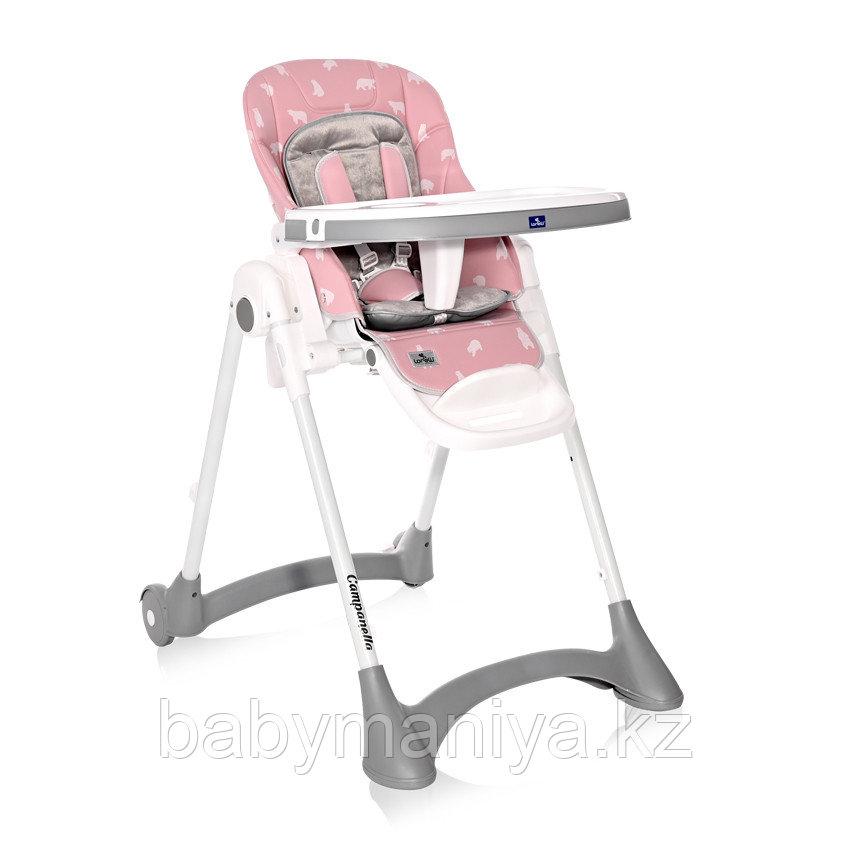 Стульчик для кормления Lorelli CAMPANELLA Розовый / Pink BEARS 2133