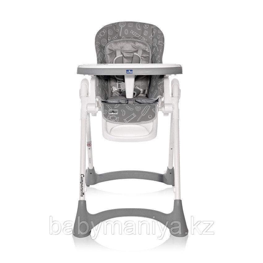 Стульчик для кормления Lorelli  CAMPANELLA  Серый / Grey  CANDY 2137