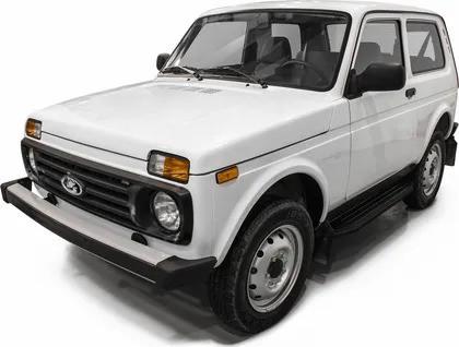 "Пороги ""Premium-Black"" Lada 4x4  3D (1977-), Lada 4x4 Urban 3D (2016-)"