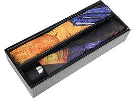 Набор: платок, складной зонт Ван Гог. Терраса кафе ночью, темно-синий/оранжевый (артикул 905902)