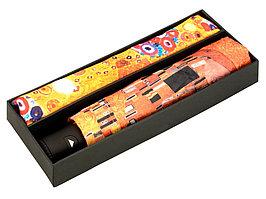 Набор: платок, складной зонт Климт. Поцелуй, оранжевый (артикул 905904)