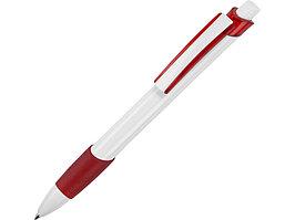 Ручка шариковая Соната, белый/красный (артикул 13144.01)