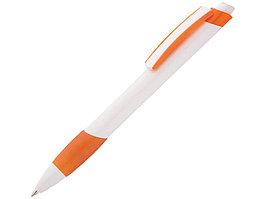 Ручка шариковая Соната, белый/оранжевый (артикул 13144.13)