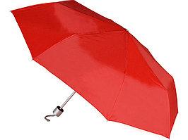 Зонт складной механический Сан-Леоне, красный (артикул 906141)