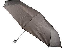 Зонт складной механический Сан-Леоне, серый (артикул 907078)