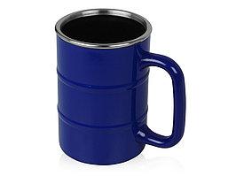 Кружка Баррель 400мл, синий (артикул 821502)