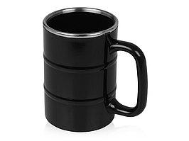 Кружка Баррель 400мл, черный (артикул 821507)
