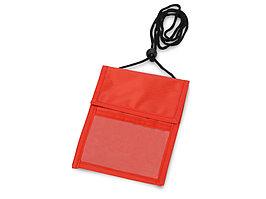 Нагрудное дорожное портмоне со шнурком (артикул 910111)