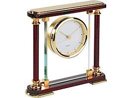 Часы Эдинбург, золотистый/красное дерево (артикул 145309)