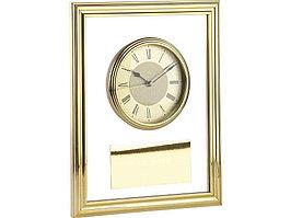 Часы настенные, золотистый/прозрачный (артикул 183705)