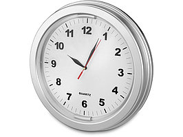 Часы настенные Паламос, серебристый (артикул 436001.15)