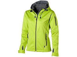 Куртка софтшел Match женская, св.зеленый/серый (артикул 3330764S)