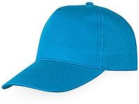 Бейсболка Memphis 5-ти панельная, ярко-голубой (артикул 11101622)
