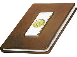 Записная книжка Голова льва А6 Luigi Pesaresi, коричневый (артикул 78080)