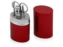 Маникюрный набор Агата, красный (артикул 841801)