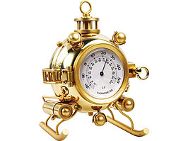 Настольный термометр Батискаф, золотистый (артикул 124705)