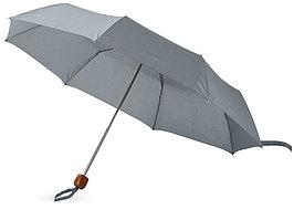 Зонт складной Oliviero, механический 21,5, серый (артикул 10906704)