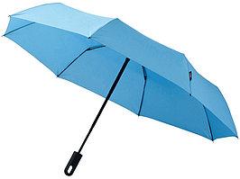 Зонт Traveler автоматический 21,5, синий (артикул 10906401)