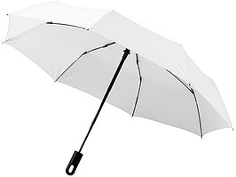 Зонт Traveler автоматический 21,5, белый (артикул 10906403)