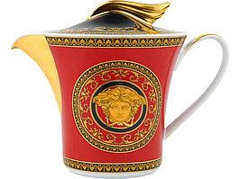 Чайник Versace Medusa, красный/золотистый (артикул 82516)