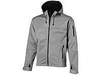Куртка софтшел Match мужская, серый/черный (артикул 33306903XL)