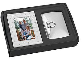 Подарочный набор: рамка для фотографии, зеркало (артикул 763250)