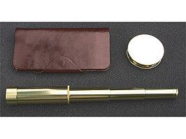 Набор: трэвел-портмоне, подзорная труба, лупа Каравелла Laurens de Graff (артикул 486908)