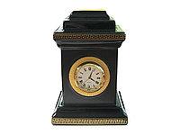 Настольные часы Medusa, фарфор, позолота (артикул 11557)