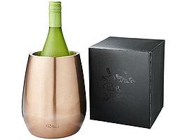 Двустенный охладитель вина Coulan из нержавеющей стали, медно-красный (артикул 11250001)