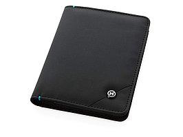Обложка для паспорта Odyssey, черный/синий (артикул 11971300)