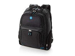 Рюкзак с отделением для ноутбука 15,4, черный/синий (артикул 11979600)