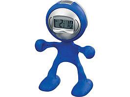 Часы настольные Flexi, темно-синий (артикул 19733690)