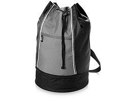 Сумка-мешок Brisbane, черный/серый (артикул 11975600)
