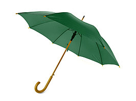 Зонт-трость Радуга, зеленый (артикул 906103)