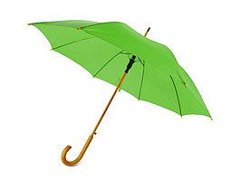 Зонт-трость Радуга, зеленое яблоко (артикул 906123)