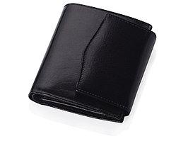Портмоне с отделениями для кредитных карт и монет, черный (артикул 559707)