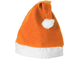 Новогодняя шапка, оранжевый/белый (артикул 11224403)